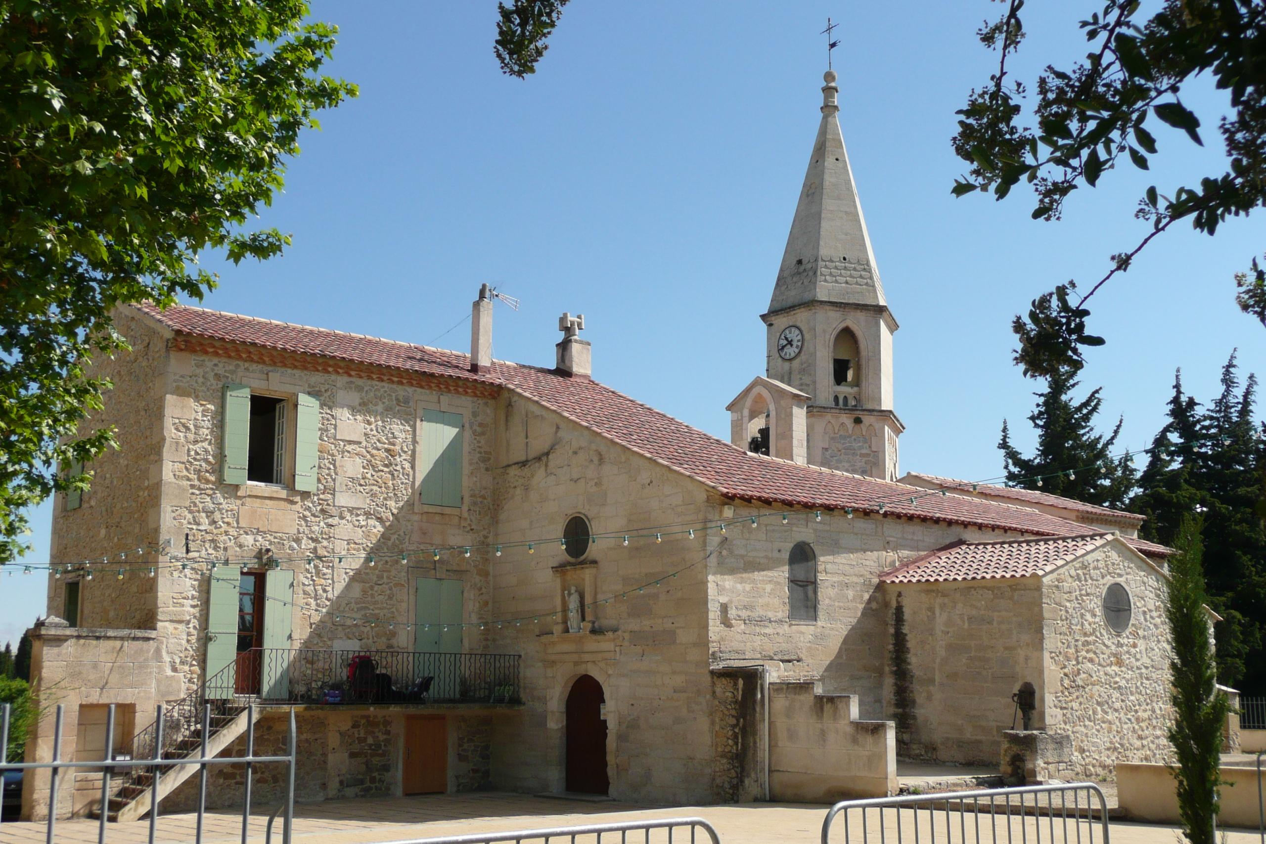 eglise saint pierre mezoargues